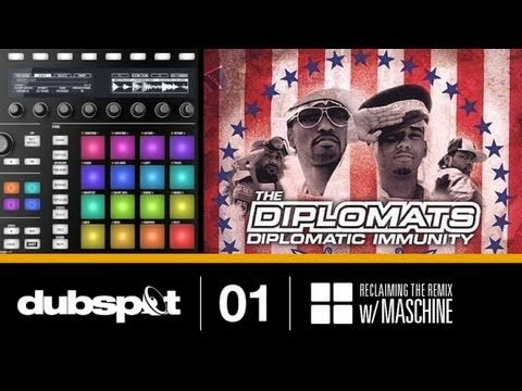 "Reclaiming the Remix w/ Maschine Ep 1: Rsonist (Heatmakerz) Recreates The Diplomats' ""Dipset Anthem"""