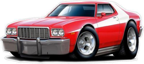1976 Ford Torino Starskey Hutch