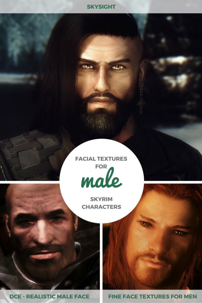 Mods for human male characters, The Elder Scrolls V: Skyrim (Bethesda)