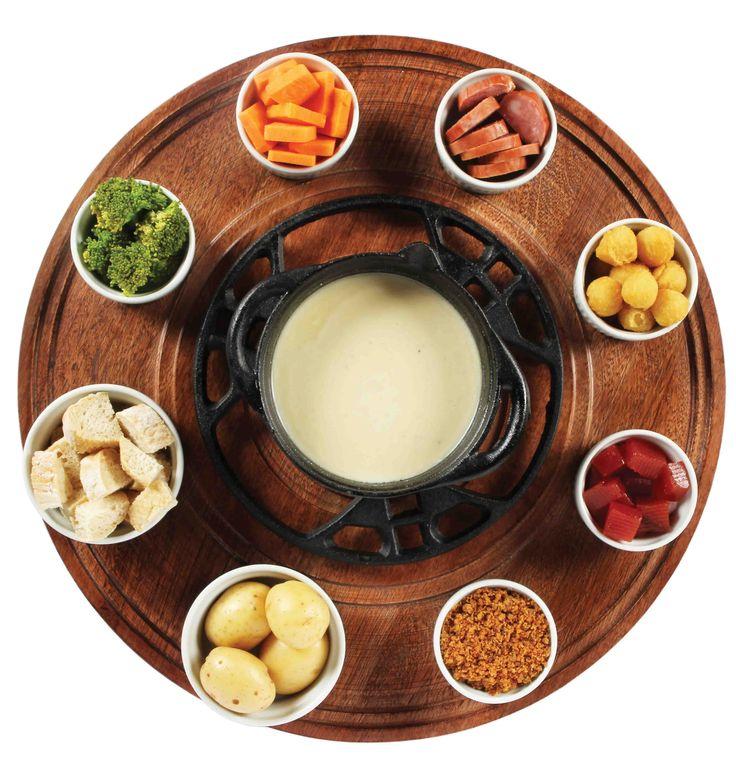 Fondue de queijo | Pães e salgados > Fondue de queijo | Receitas Gshow