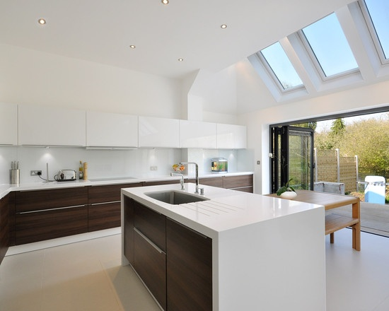 London Home Velux Skylights Design Ideas, Pictures, Remodel, And Decor