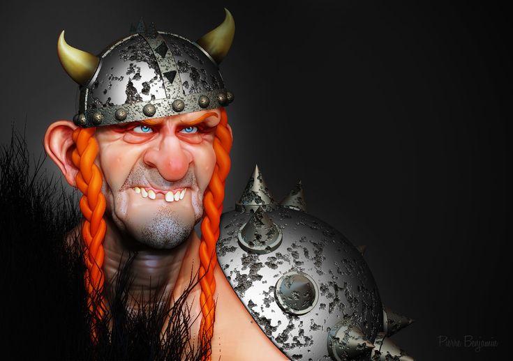 ArtStation - Viking dude WIP, Pierre Benjamin