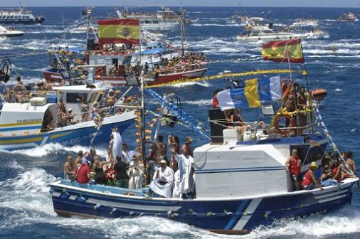Friday the 10th of July, the Fiestas del Carmen will commence - until the 16th of July, the official celebration day of Virgen del Carmen.  Read More: http://tinyurl.com/FdelCarmen  #FiestadelCarmen #Fiesta #celebration #VirgendelCarmen #Boat #parade #music #dance #activities #Agaete #Telde #SanNicolas #LasPalmas #Arguineguin #Mogan #grancanaria #canaryislands #islascanarias #spain #españa   Whats on in Gran Canaria - Google+
