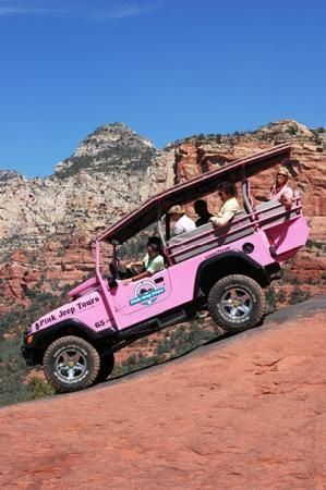 Sedona Arizona - pink jeep tours Took my dad on the tour. He loved it!