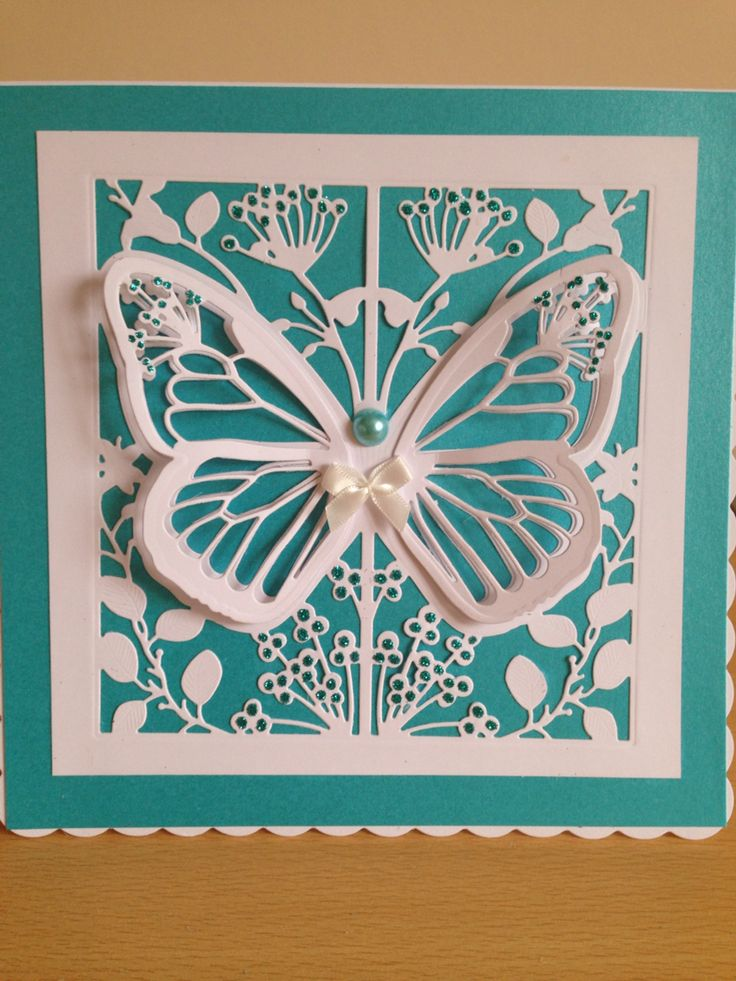 Card using create and craft couture Mariposa