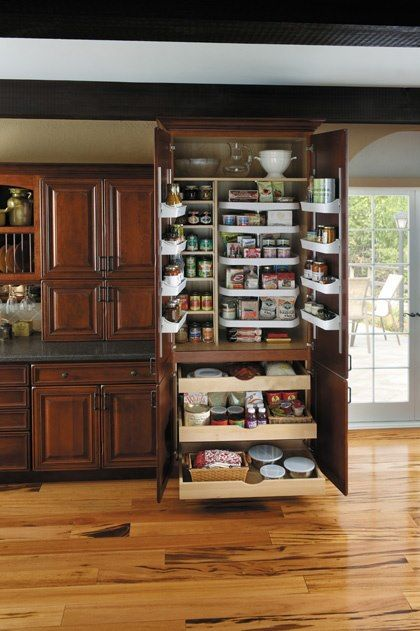 Amazing Pantry Storage For The Home Pinterest Organized Pantry Cabinet Colors And Baking