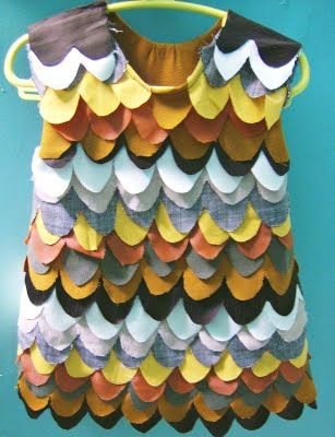 DIY owl dress. Great costume for Halloween. Tutorial by Llevo el invierno.