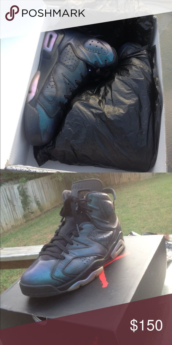 Air Jordan Retro 6s(All star 6s/  chameleon 6s) 9.5/10 Condition, slight creasing Jordan Shoes Sneakers