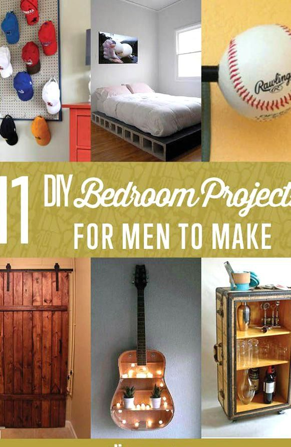 Are You In Need Of Diy Bedroom Projects For Men If You Want To Make Your Bedroom Lo In 2020 Diy Projects For Bedroom Men Diy Projects Craft Ideas Diy Projects