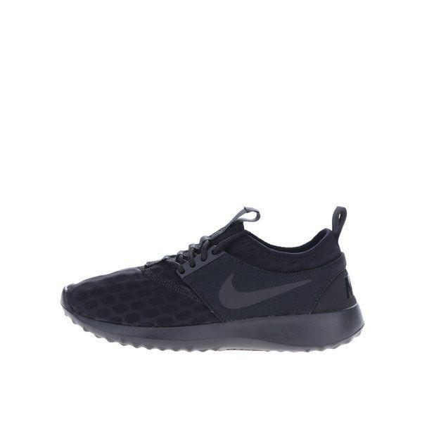 Pantofi sport negri pentru femei Nike Juvenate - - varf alungit- strat din spuma usoara pentru un confort sporit - inchidere cu sireturi - design care imbraca perfect piciorul - cauciuc plasat strategic la nivelul talpii pentru o mai buna rezistenta si aderenta la solMaterrial:exterior - textilint