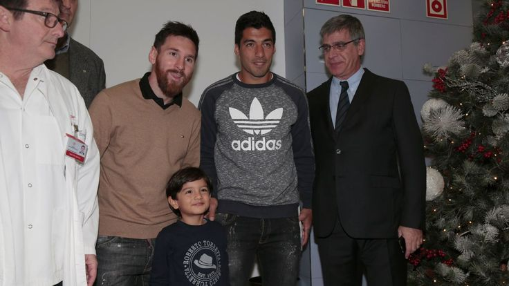 Joan Capdevila thanks Lionel Messi and Luis Suarez for hospital visit