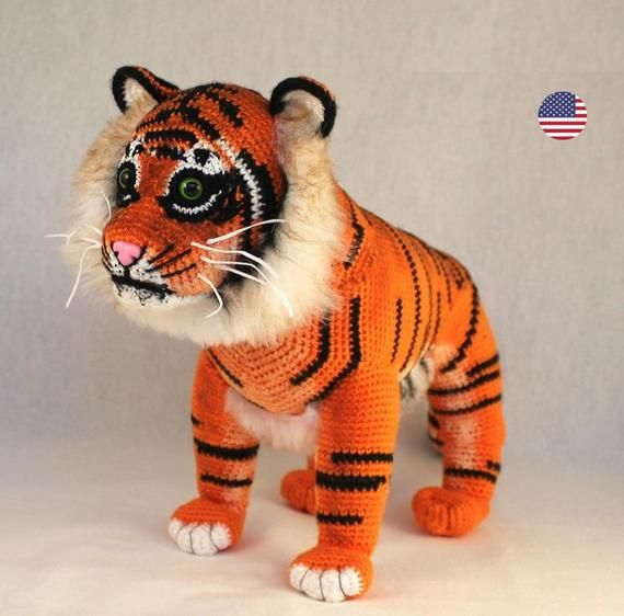 Tito The Tiger Crochet Pattern by Yarn Society | 562x570