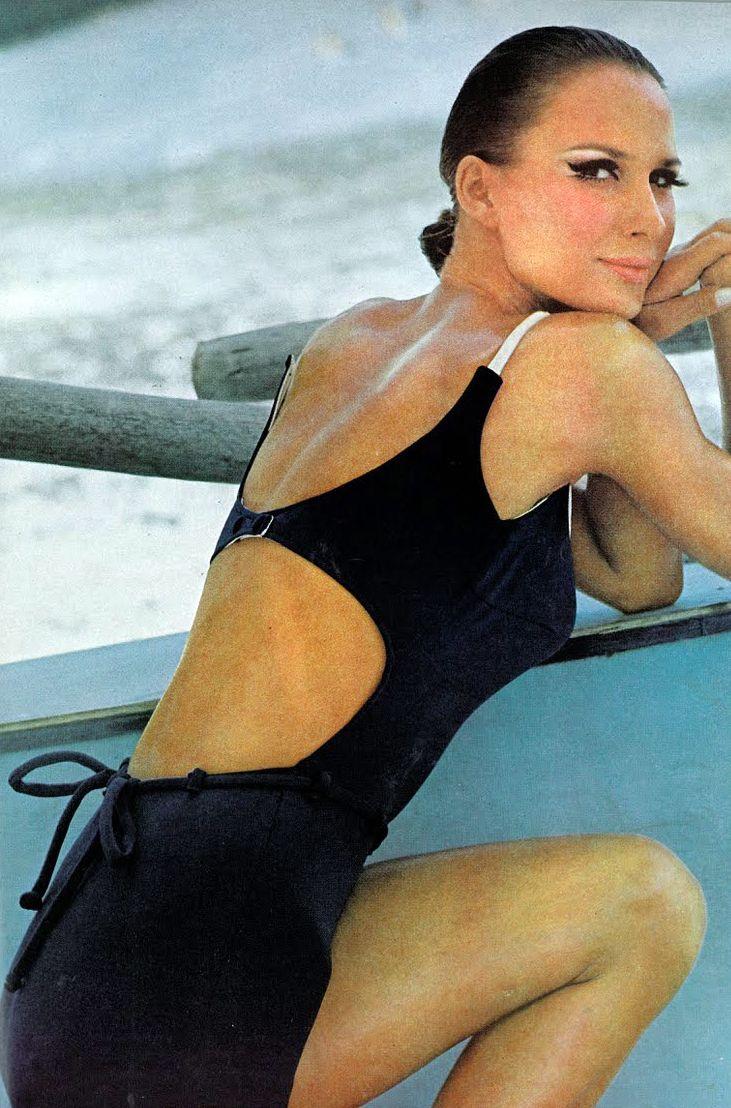 Vintage swim: Birgitta af Klercker, Vogue 1965