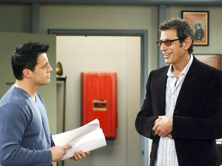 Friends - Friends TV show - actor cameos - Jeff Goldblum - Leonard Hayes.