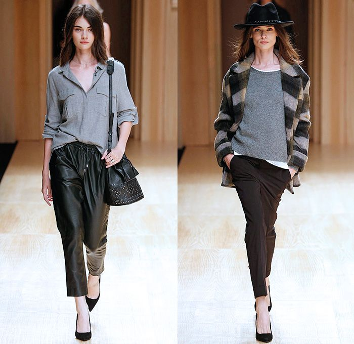 Mango 2014 2015 Fall Autumn Winter Womens Runway Looks