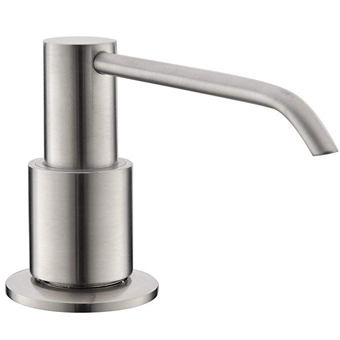 Vapsint Sturdy Modern Brushed Nickel Kitchen Sink Countertop Hand