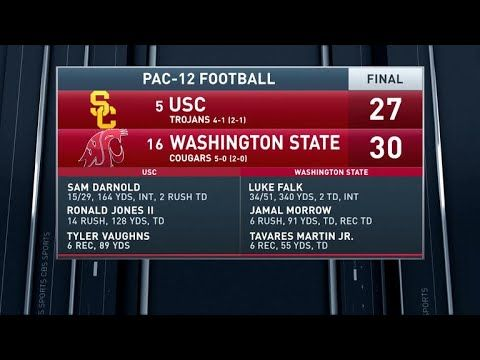 Inside College Football: Washington State upsets USC 30-27