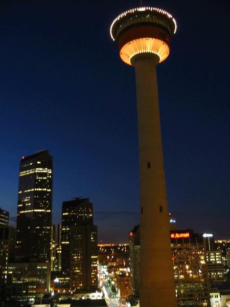 Calgary Tower,Calgary,AB