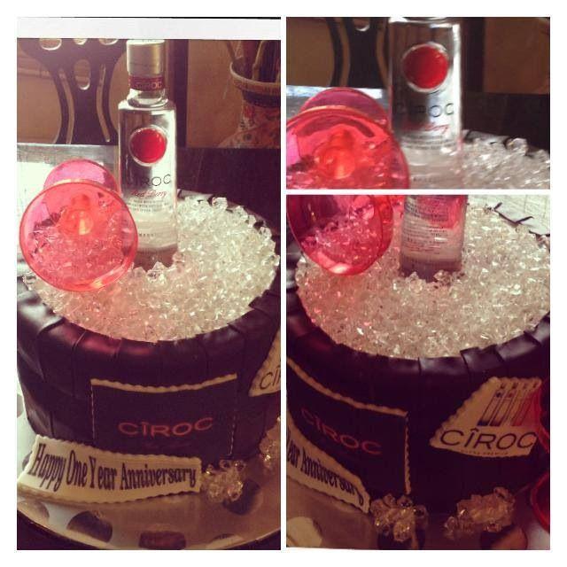 Ciroc Cake Cute Cakes Birthday Cake Cake Amazing Cakes