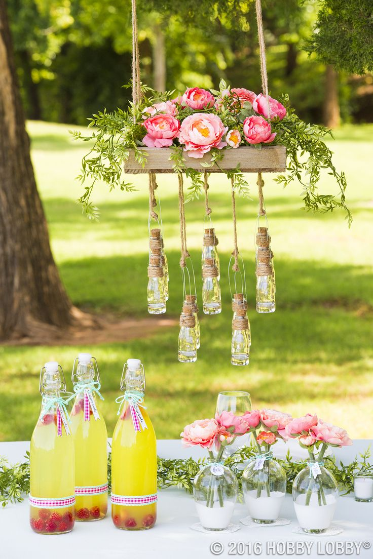 Glass bottles are one of the most versatile DIY staples around! They're cute and functional--paint them, decorate them, fill them, the options are endless!