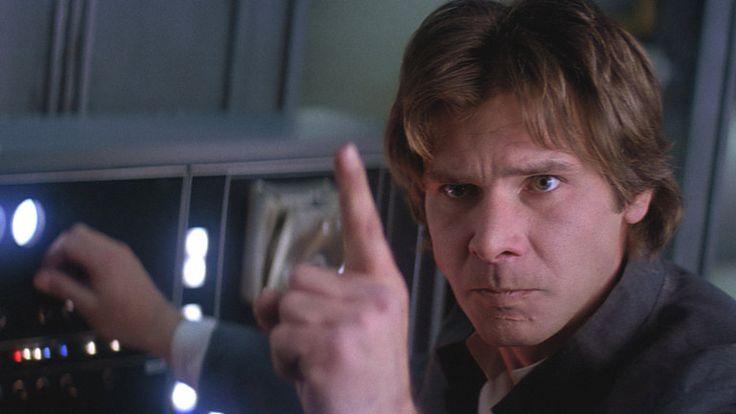 Han Solo in The Empire Strikes Back.
