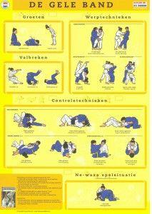 Gele-band / Judo Technieken