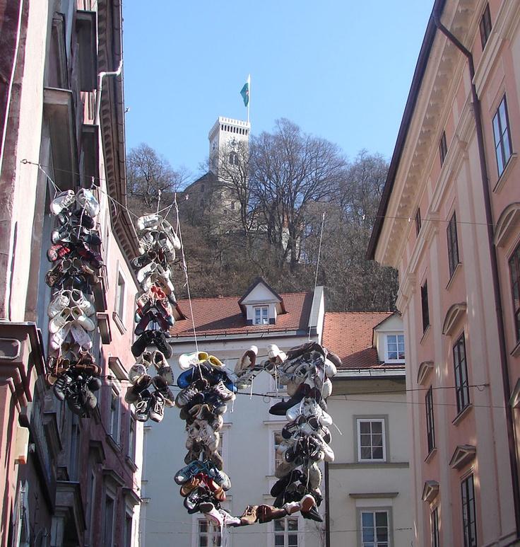 Need a new pair of shoes?Everyday Life, Ljubljana Slovenia