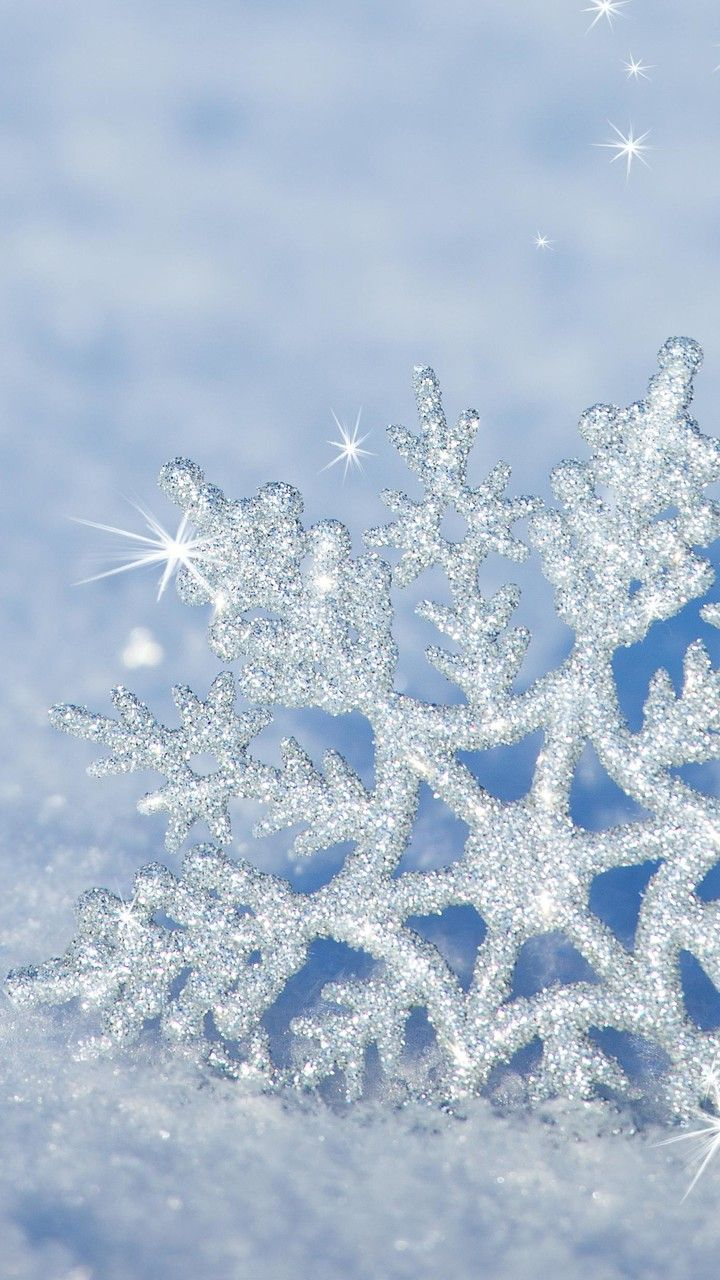 Wallpaper Download 720x1280 3d Snowflake In The Snow Hd Winter Wallpaper Winter Wallpapers Seasons W Winter Wallpaper Iphone Wallpaper Winter 3d Snowflakes