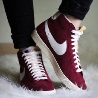 I want Nike high tops so bad... Strange but true. Shop NYC fashion on ShopRoyalEast.com