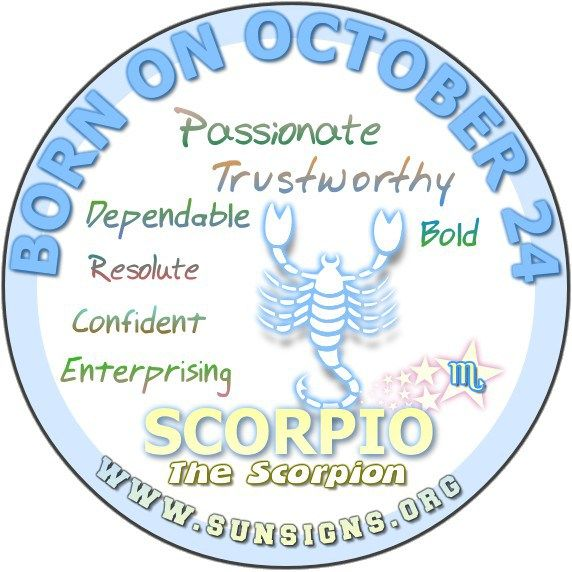 October 24 Birthday Horoscope Personality » Sun Signs