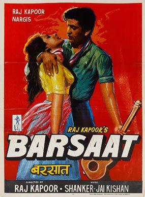 #Barsaat #RajKapoor #MoviePoster #NoReserveAuction(Oct15-16,2014)