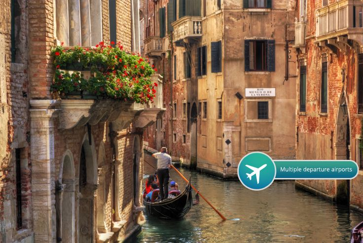 2-3nt 4* Venice Break, Wine & Flights deal in Holidays Visit beautiful Venice in style with this two or three-night break.  Stay at the Smart Hotel Holiday, Hotel Delfino or Ambasciatori.  Includes return flights from a choice of six UK airports: Luton, Stansted, Gatwick, Bristol, Manchester or Edinburgh.  Valid for travel on selected dates until 30th Aug 2017.  Minimum 40 hours in destination...