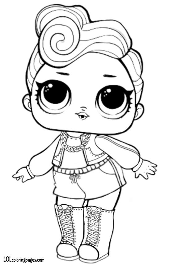 Pin By Teresa Overpeck On Novyj God Cartoon Coloring Pages Lol Dolls Coloring Books