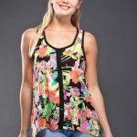 Brandel – Blusas estampadas primavera verano 2015 | Noticias de Moda Argentina