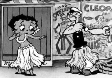 porn magazine with betty boop