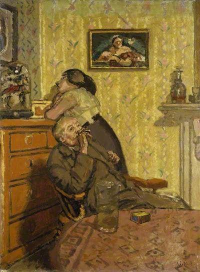 Ennui, 1917-18 by Walter Sickert (1860-1942)