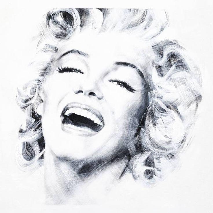 "Saatchi Art Artist Jean Pierre Rousselet; Painting, ""Marilyn Three"" #art"