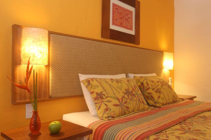 detalhe de nossa cabeceira de cama - Apartamento Standard