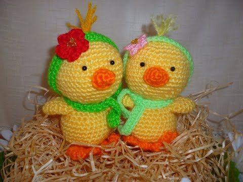 Tutorial Paperella Uncinetto - Papera Amigurumi Duck Crochet - Pato Crochet - YouTube