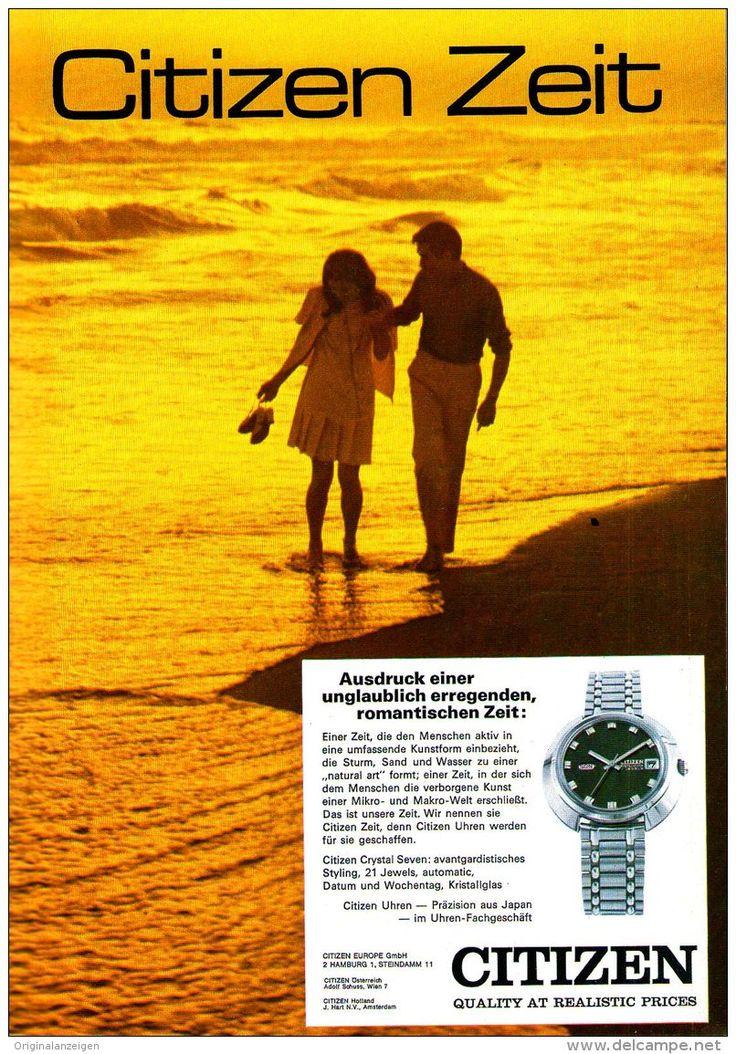 Original-Werbung/ Anzeige 1969 - CITIZEN UHREN - ca. 180 x 240 mm