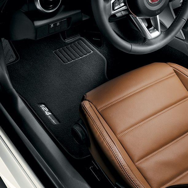 Piękny na zewnątrz i zaskakująco elegancki w środku. #Fiat #Fiat124Spider