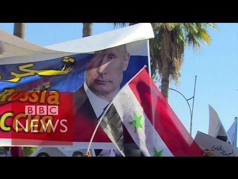'Thank you, Russia, Thank you, Putin' - BBC News