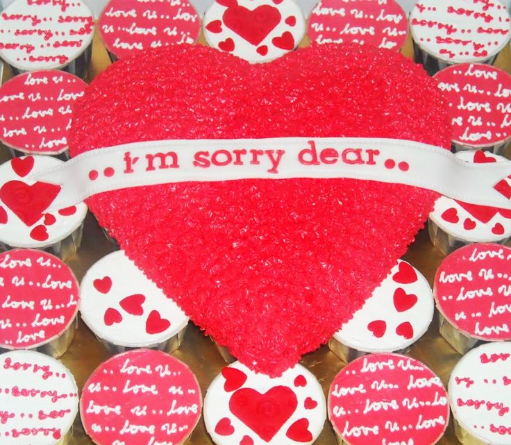 """Bake an """"I'm Sorry"""" Cake - How to apologize"""
