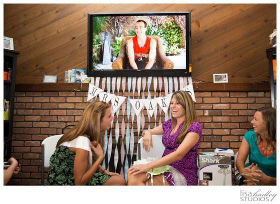 """Bridal Shower Activity: The Newlywed Game - ask the groom questions about the bride and film his responses!  See if the bride guesses his answers correctly.  Fun for the group without playing a """"game,"""" plus everyone gets to learn more about the couple.  bridal shower, party, bachelorette"""