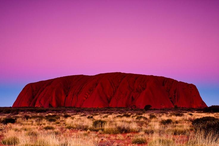 Ayres Rock (Uluru) Sunset - Australia