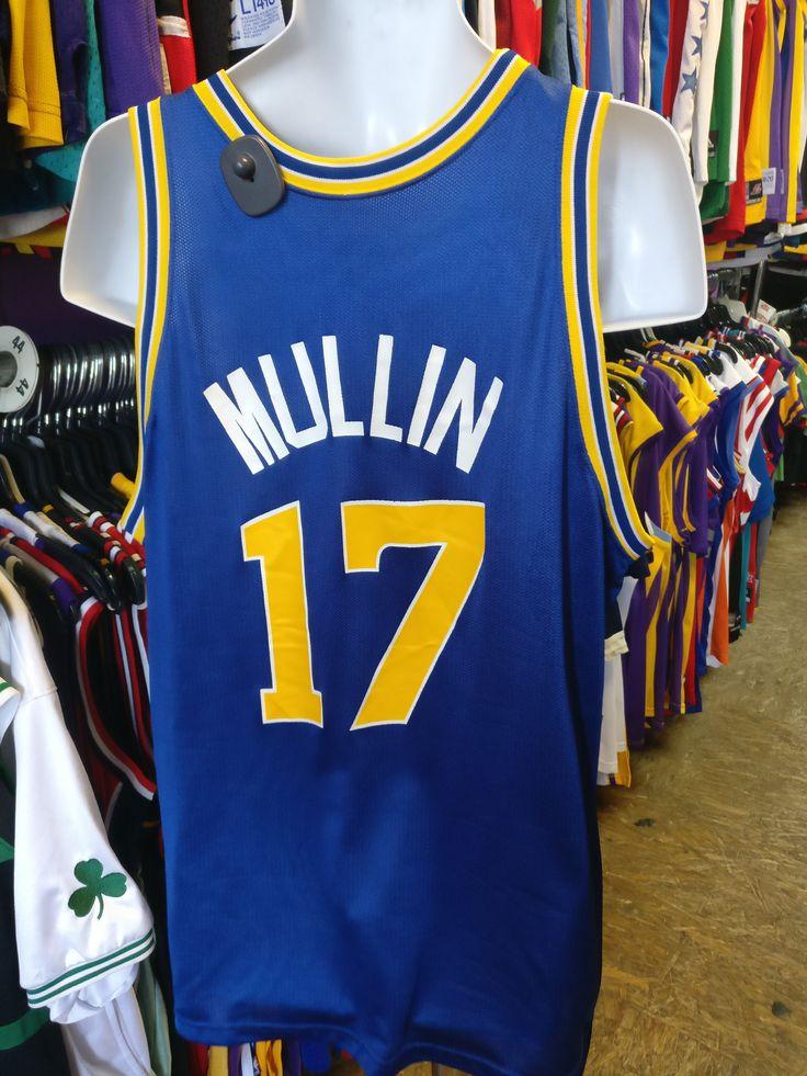 Vintage #17 CHRIS MULLIN Golden State Warriors NBA Champion Jersey 48