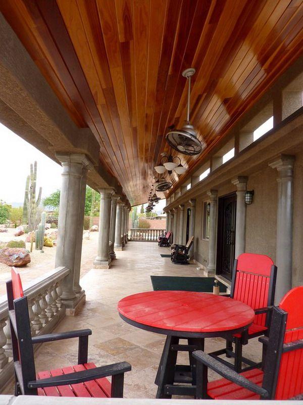 Redwood Southwestern Outdoor Design Ideas