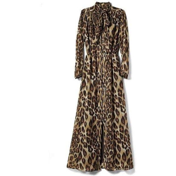 25  best ideas about Leopard maxi dresses on Pinterest | Animal ...