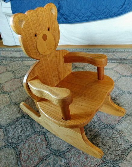 Best 25 rocking chair plans ideas on pinterest rocking for Small wooden rocking chair for crafts