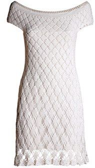 Мир хобби: Белоснежное платье (вязание крючком)